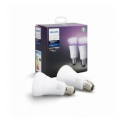 Philips HUE White and color ambiance 2x Single bulb E27