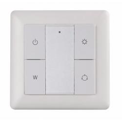 RGBW nástenný ovládač tlačítkový