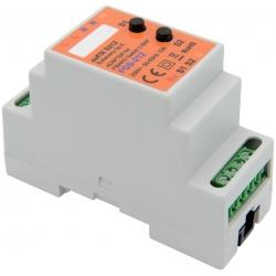 euFIX S212 DIN adaptér (s 2 tlačidlami) - relé bezpotenciálové