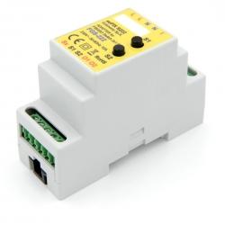 euFIX S222 DIN adaptér (s 2 tlačidlami) - dvojité relé bezpotenciálové
