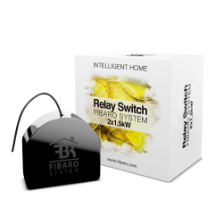 Fibaro Relay Switch 2x1,5kW - ON/OFF bezpotenciálové relé