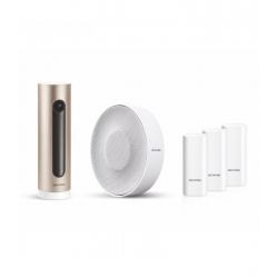 Netatmo Smart Alarm System s kamerou - kamera, siréna, 3x dverný/okenný senzor